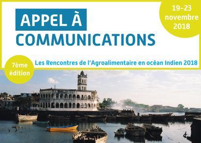 L'appel à communications pour les Rencontres de l'Agroalimentaire 2018 est ouvert !
