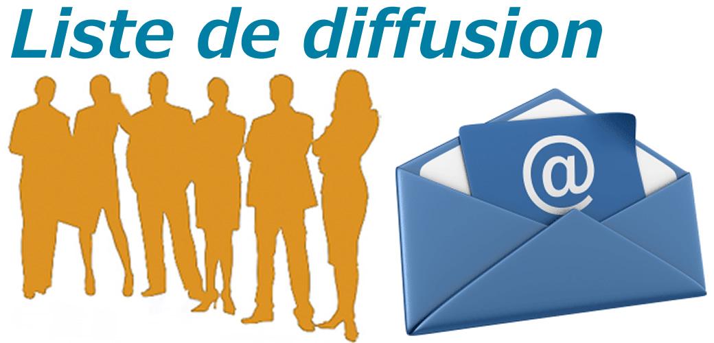 Liste de diffusion informations qualireg la qualit for Liste de diffusion