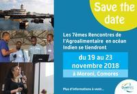 Les 7èmes Rencontres de l'Agroalimentaire 2018 aux Comores