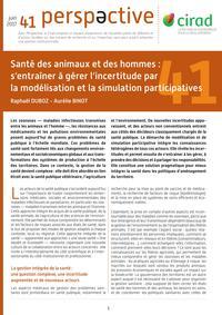 Santé des animaux et des hommes : s'entraîner à gérer l'incertitude par la modélisation et la simulation participatives